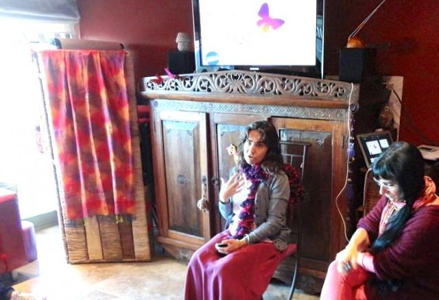 miriam y cris III semana ICF -mayo'14-Impacto meditacion en CE