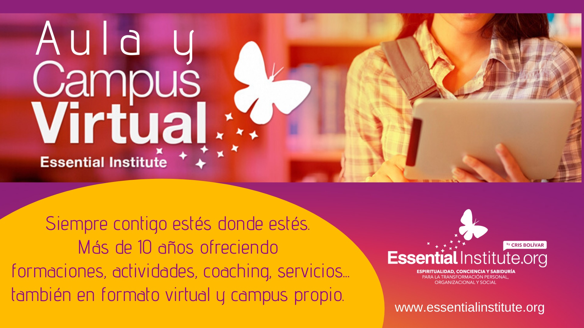 Cabecera Campus Virtual Esssential Institute