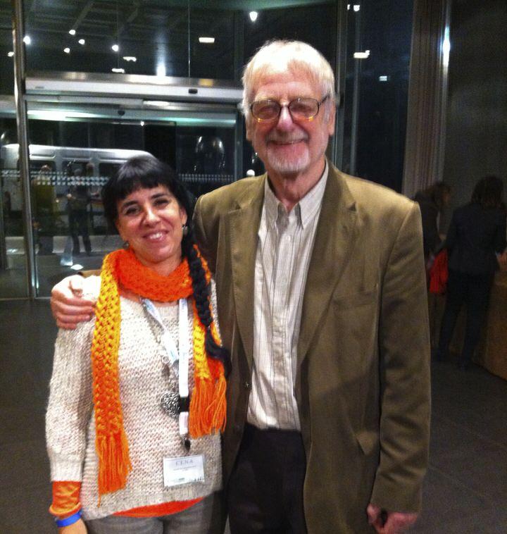 John Withmore y Cris Bolívar, ambos ponentes en el Coach Congress Barcelona 2012.