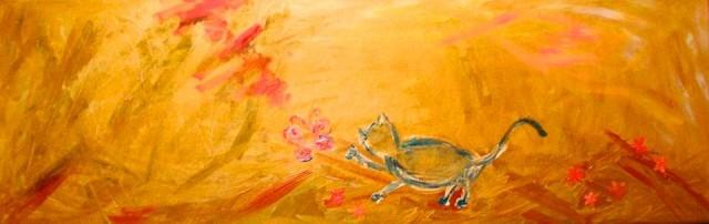 Il gato e la farfalle (il gatto e la farfalla)