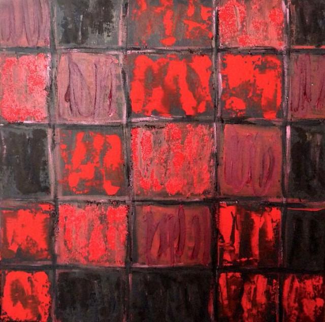 la noche oscura alma III 70x70