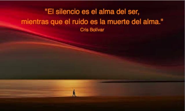 el silencio es el alma