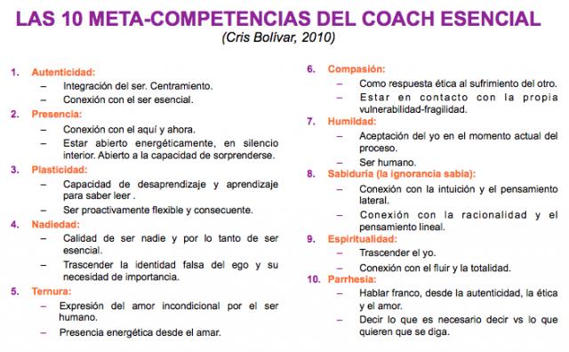 10 meta-comp coach esencial