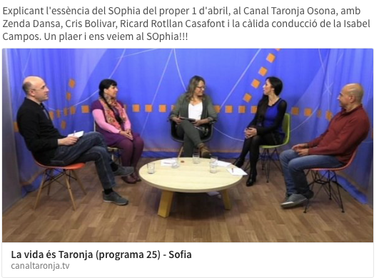 canal taronja sophia