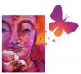 buda y mariposa logo