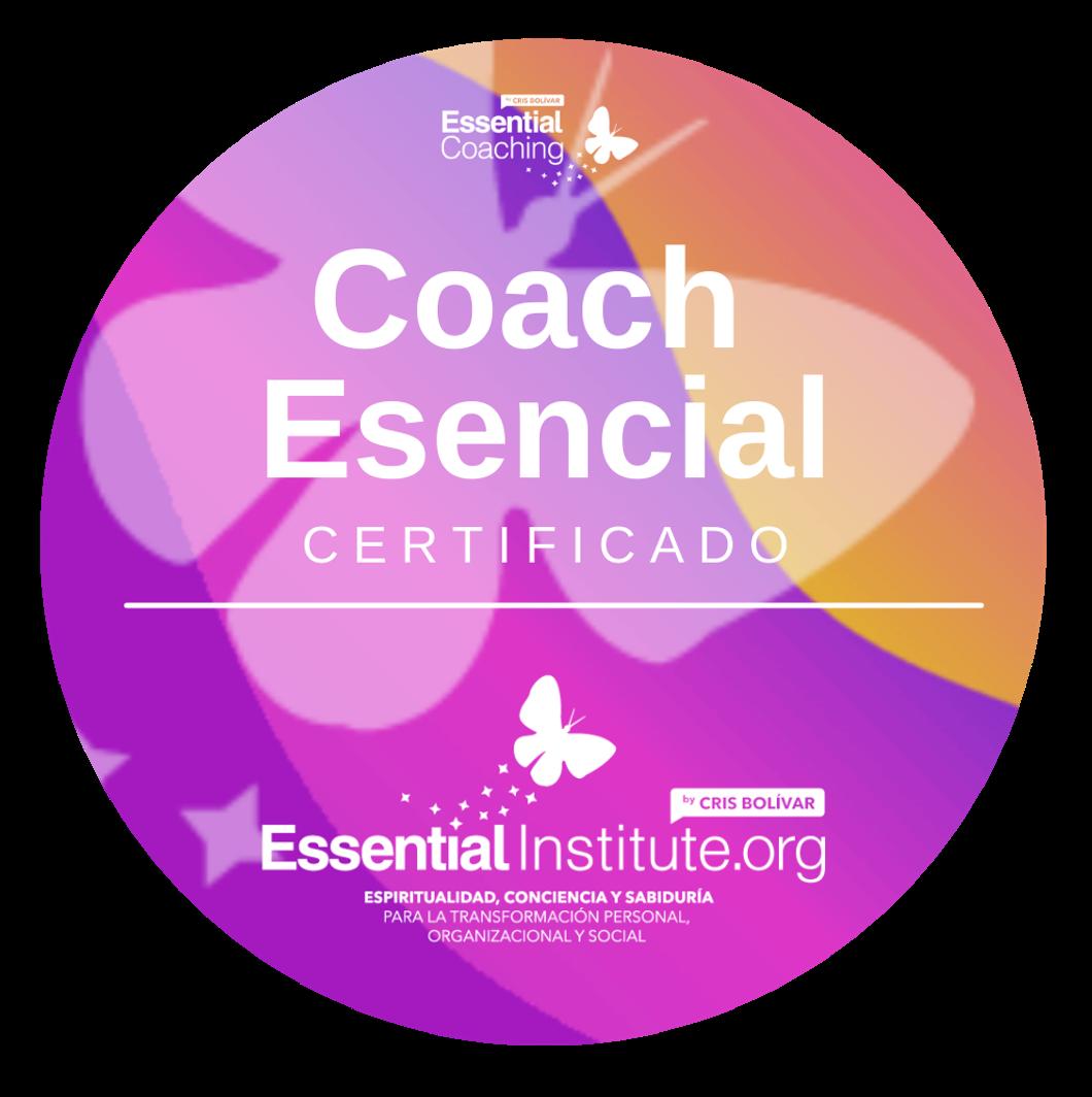 Sello CoachEsencialCertificadoNivel1